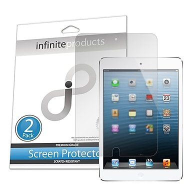 Infinite Products IPDM-SP-2AG Anti Glare PhotonShield Screen Protector Film For iPad Mini, 2/Pack