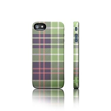 Luardi™ Snap-On Hybrid Case For iPhone 5/5S, Scottish Green Tartan