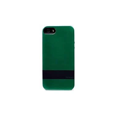 Mrked Hybrid Case For iPhone 5/5S, Shamrock Green/Midnight Blue