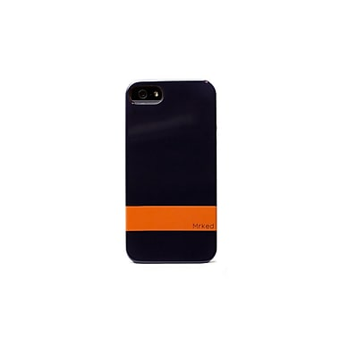 Mrked Hybrid Case For iPhone 5/5S, Midnight Blue/Dark Orange