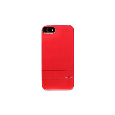 Mrked Hybrid Case For iPhone 5/5S, Red/Orange