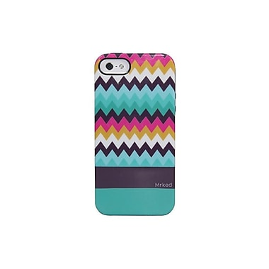 Mrked Colored Chevron Hybrid Case For iPhone 5/5S, Multiple Colors