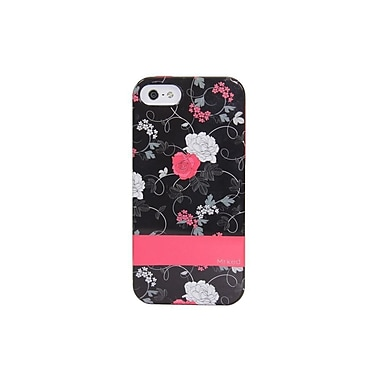 Mrked Dark Floral Hybrid Case For iPhone 5/5S