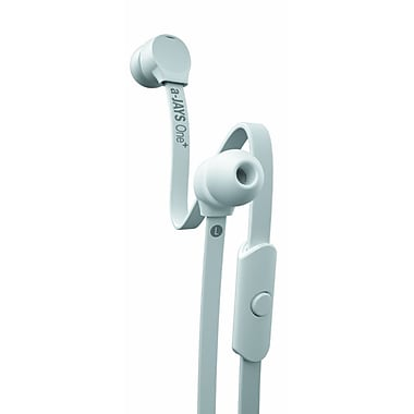 JAYS a-JAYS® One Plus Earbuds With Mic, White