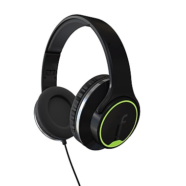 Flips  Audio Flips Collapsible HD Headphones and Stereo Speakers, Black