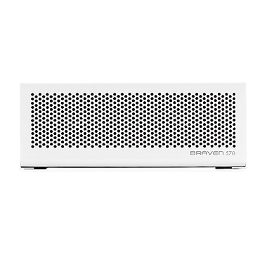 Braven 570 6 W Bluetooth Speaker For iPhone, iPod, iPad and Most Bluetooth, Arctic White