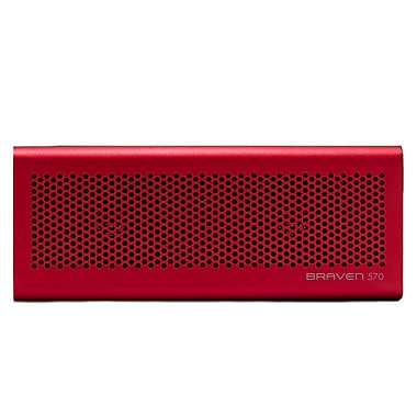 Braven 570 6 W Bluetooth Speaker For iPhone, iPod, iPad and Most Bluetooth, Sahara Red