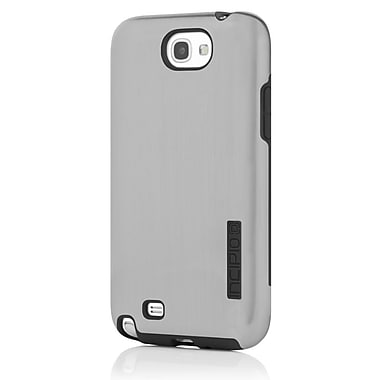Incipio® DualPro Shine Hybrid Case For Samsung Galaxy Note II, Silver/Black