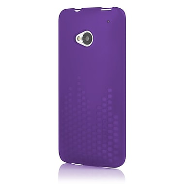 Incipio® Frequency TPU Textured Impact Resistant Jelly Case For HTC One, Royal Purple