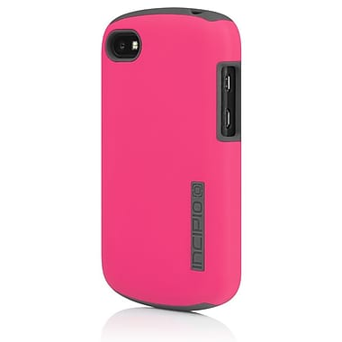Incipio® DualPro Hard-Shell Hybrid Case For BlackBerry Q10, Pink/Gray