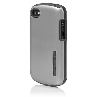 Incipio® DualPro Shine Hybrid Case For BlackBerry Q10, Silver/Gray