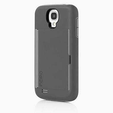 Incipio® Stowaway Credit Card Hard Case For Samsung Galaxy S4, Gray/Gray