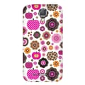 Luardi™ Candy Apple Snap On Hybrid Case For Samsung Galaxy S4, Multicolor