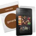 Generiks Screen Protector Film For Amazon Kindle Fire HD 8.9in., Clear, 3/Pack