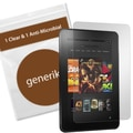 Generiks Anti-Glare Screen Protector Film For Amazon Kindle Fire HD 8.9in., Clear, 2/Pack