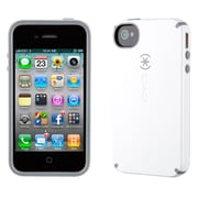 Speck® CandyShell Hard Case For iPhone 4 & 4S, White/Charcoal