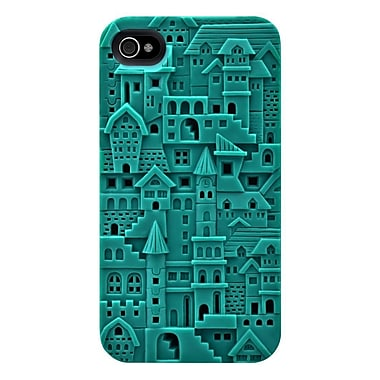 SwitchEasy™ Avant-garde Hard Case For iPhone 4 & 4S, Chateau/Turquoise