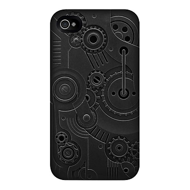 SwitchEasy™ Avant-garde Hard Case For iPhone 4 & 4S, Clockwork/Black