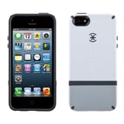 Speck® CandyShell Flip Hard Case For iPhone 5/5S, White/Pebble Gray/Charcoal