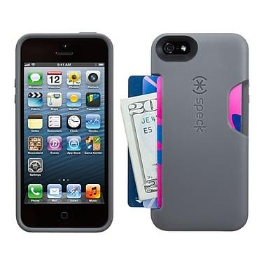 Speck® SmartFlex Card Case For iPhone 5/5S, Graphite Gray
