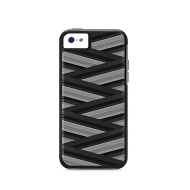 X-Dorian Rapt Case For iPhone 5C, Black/Gray