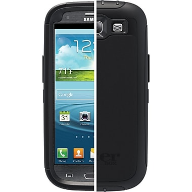 OtterBox™ Defender Series Hybrid Case & Holster For Samsung Galaxy S3, Black