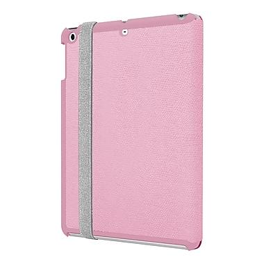 Incipio Watson IPD-332-PNK Vegan Leather Folio Case for Apple iPad Air, Pink