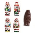 Foiled Milk Chocolate Santas, 2.5 lb. Bag