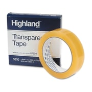 "3M™ Highland™ 1"" x 2592"" Transparent Tape, Clear"