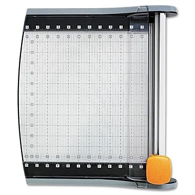 Fiskars® SureCut™ 01005419J LED Rotary Paper Trimmer, 12-In-1