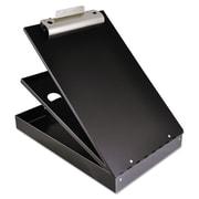 "Saunders® 1"" Capacity Cruiser-Mate Aluminium Storage Clipboard, Black"