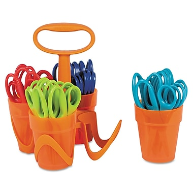 Fiskars® Blunt Tip Kids Scissors Classpack Caddy, 5in.(L)