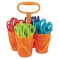 Fiskars® Pointed Tip Kids Scissors Classpack Caddy, 5in.(L)