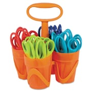 Fiskars® Pointed Tip Kids Scissors Classpack Caddy, 5(L)