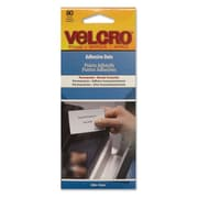 Velcro® Permanent Adhesive Dots, Clear, 80/Pack