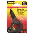 Scotch® Super 33+ Vinyl Electrical Tape, Black