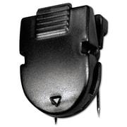 Advantus® Fabric Panel Wall Clip, Black, 50/Box