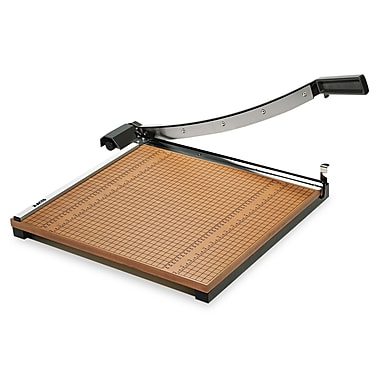 X-ACTO® Square Wood Guillotine Paper Trimmer 18in. x 18in.
