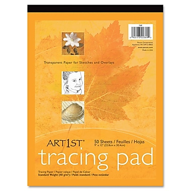 Pacon® Art1st® Tracing Paper, White, 14in. x 17in., 50 Sheets