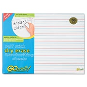 Pacon® GoWrite!® 11 x 8 1/4 Adhesive Dry Erase Handwriting Sheet, 30/Pack