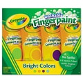 Crayola® 4 oz. Washable Finger Paint, Assorted, 4/Pack