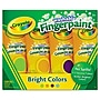 Crayola 4 Oz. Washable Finger Paint, Assorted, 4/pack