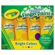 Crayola Non-toxic 4 oz. Washable Finger Paint, 4/Pack (550012)