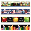 Teacher Created Resources 3in. x 140' Susan Winget Border Trim Variety Pack, 48/Set