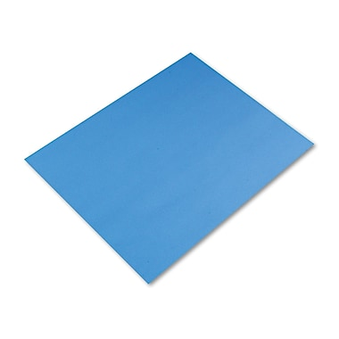Pacon® 54841 22in. x 28in. Colored Four-Ply Poster Board, Royal Blue