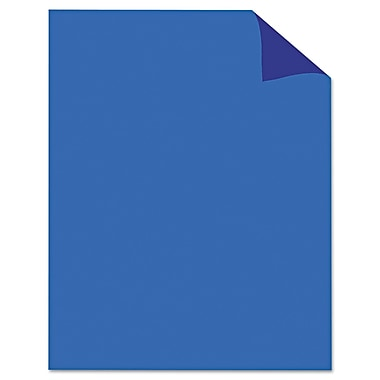 Geographics® 24340 22in. x 28in. Two Cool Poster Board, Light Blue/ Dark Blue