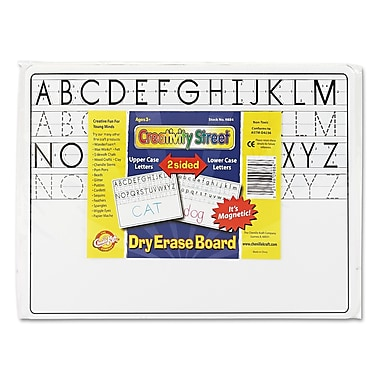 Chenille Kraft 9in. x 12in. 2 Sided Magnetic Dry Erase Board, 10/Set