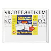 Chenille Kraft 9 x 12 2 Sided Magnetic Dry Erase Board, 10/Set