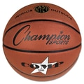 Champion Sports 29in. Dia Composite Basketball, Brown