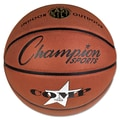 Champion Sports 27 3/4in. Dia Composite Basketball, Brown